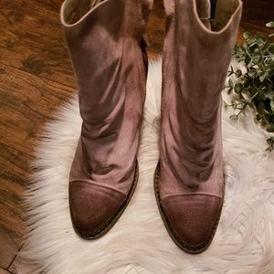 Sbicca Shoes - Sbicca Vintage Collection Millie Suede Ankle Boots